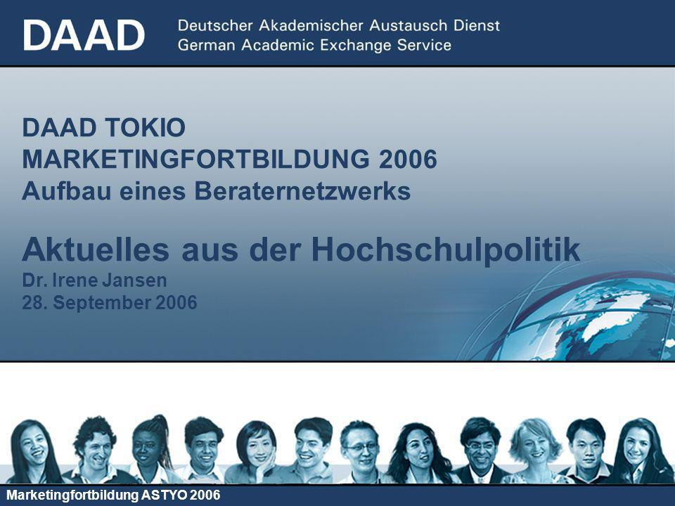 Marketingfortbildung ASTYO 2006