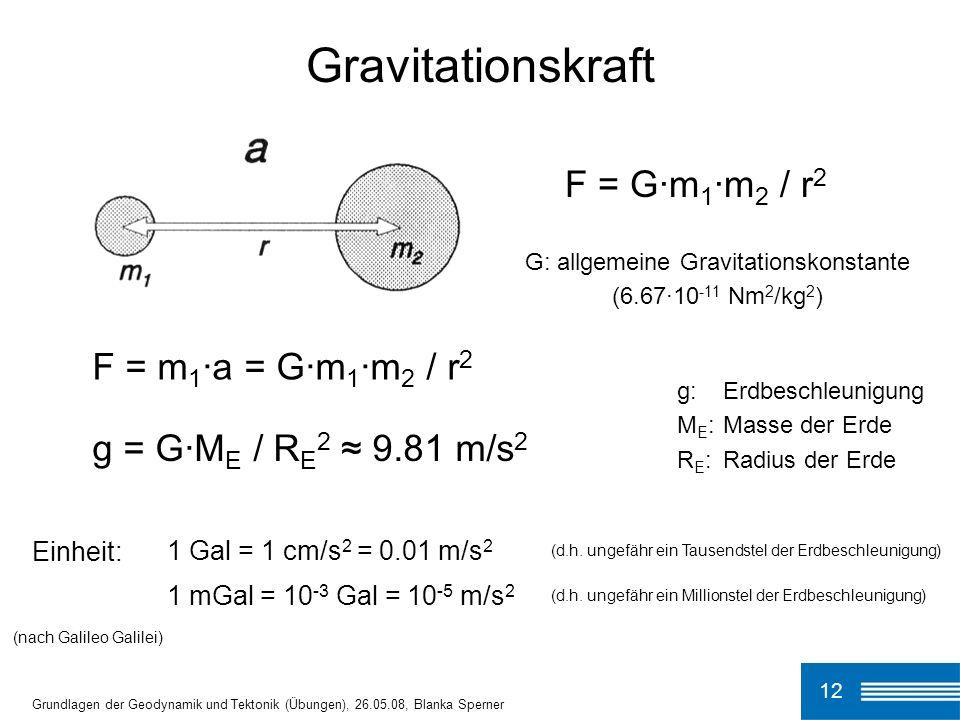 G: allgemeine Gravitationskonstante