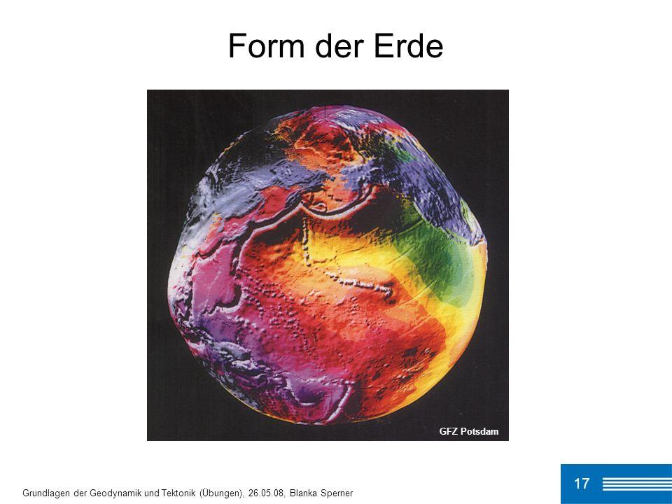Form der Erde 17 GFZ Potsdam