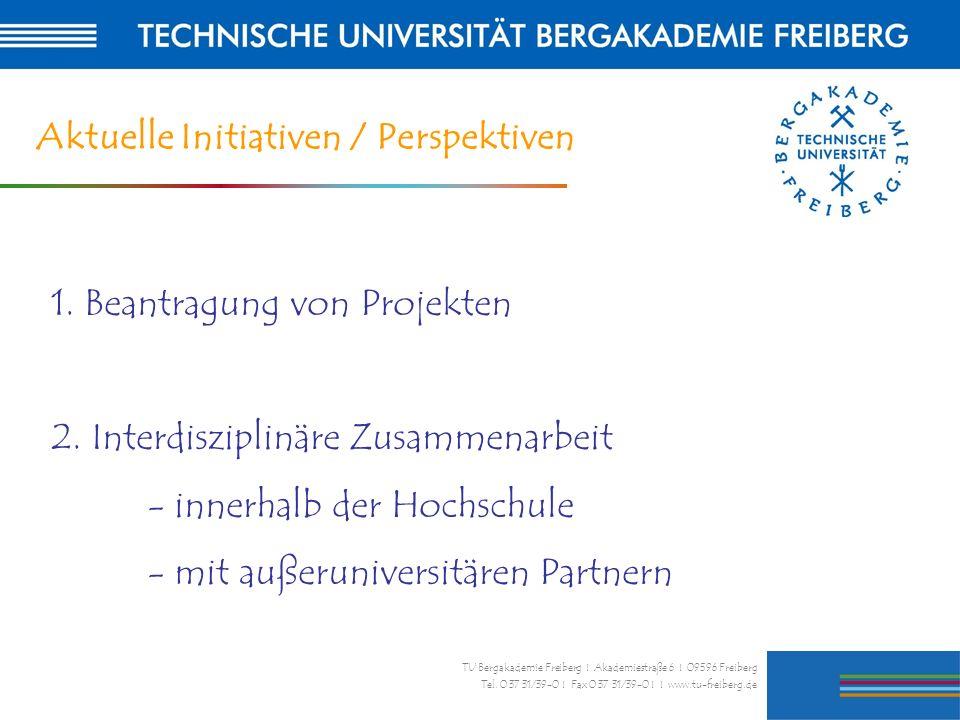 Aktuelle Initiativen / Perspektiven