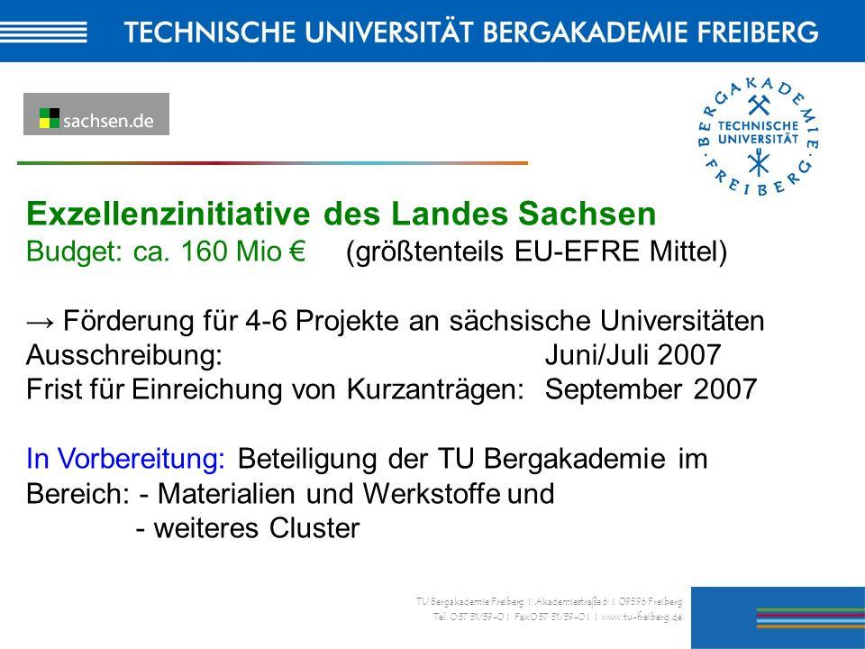 Exzellenzinitiative des Landes Sachsen