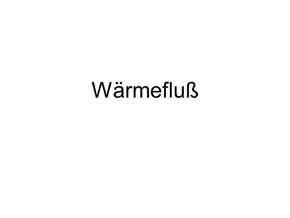 Wärmefluß 1