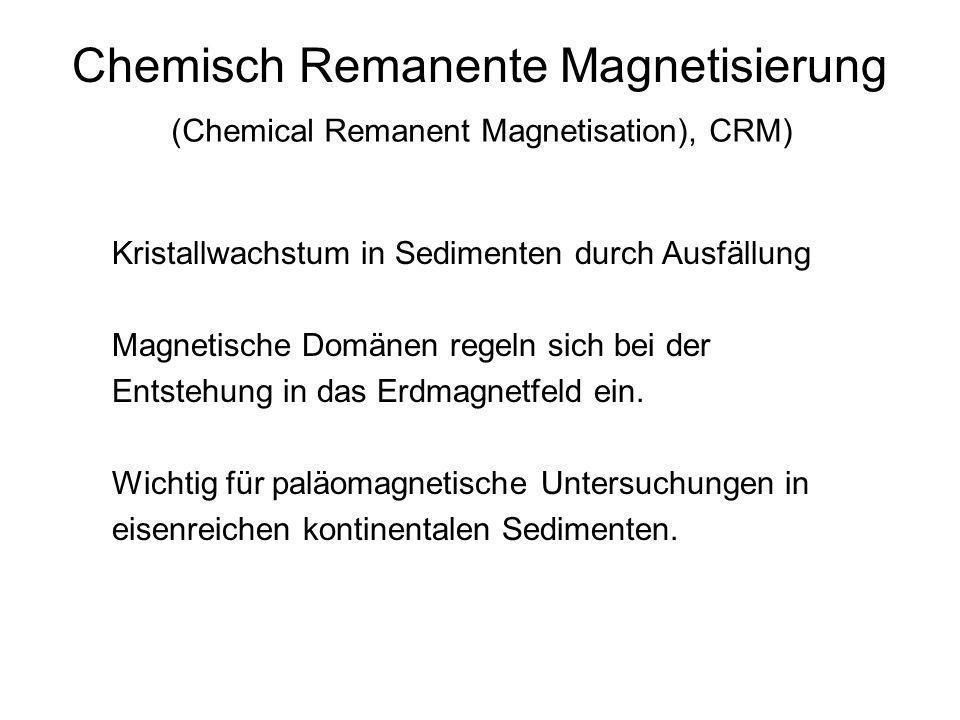 Chemisch Remanente Magnetisierung