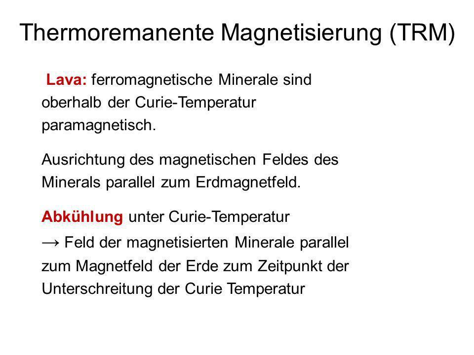 Thermoremanente Magnetisierung (TRM)