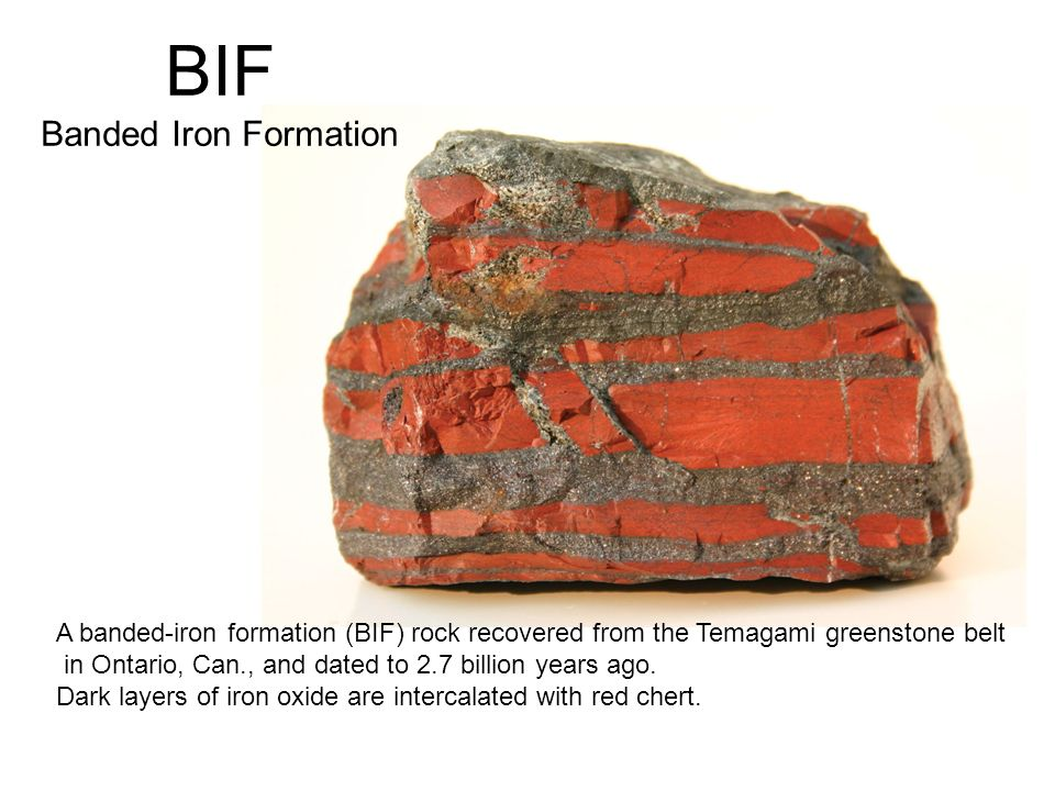 BIF Banded Iron Formation