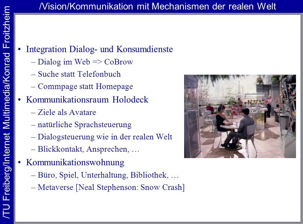 /Vision/Kommunikation mit Mechanismen der realen Welt
