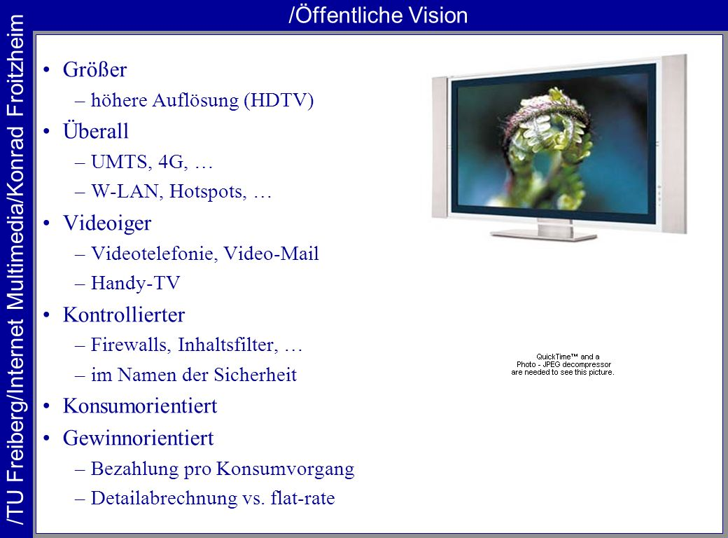 /Öffentliche Vision Größer Überall Videoiger Kontrollierter