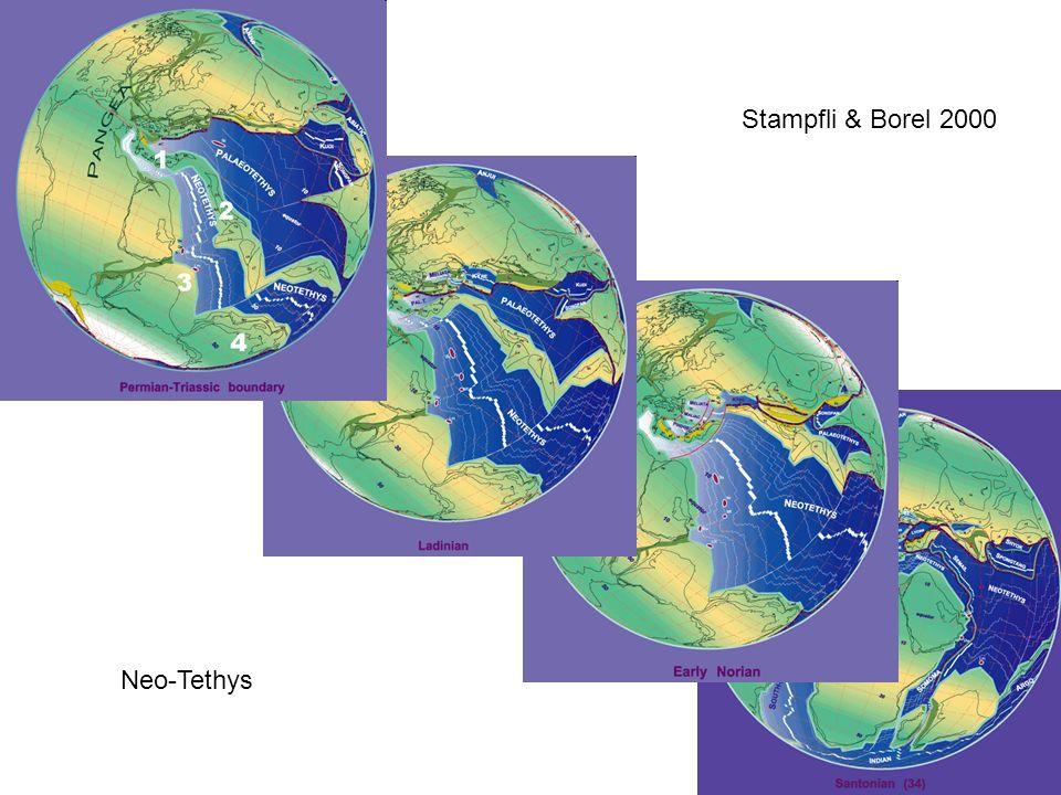 Stampfli & Borel 2000 Neo-Tethys