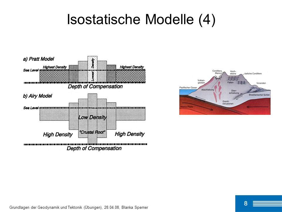 Isostatische Modelle (4)