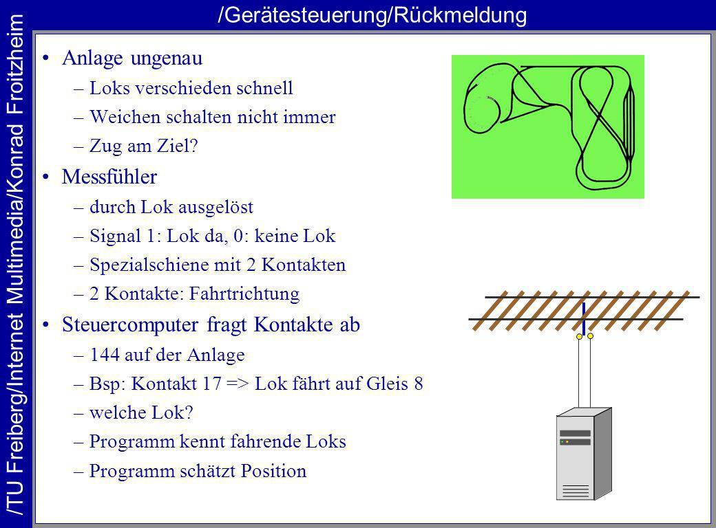 /Gerätesteuerung/Rückmeldung