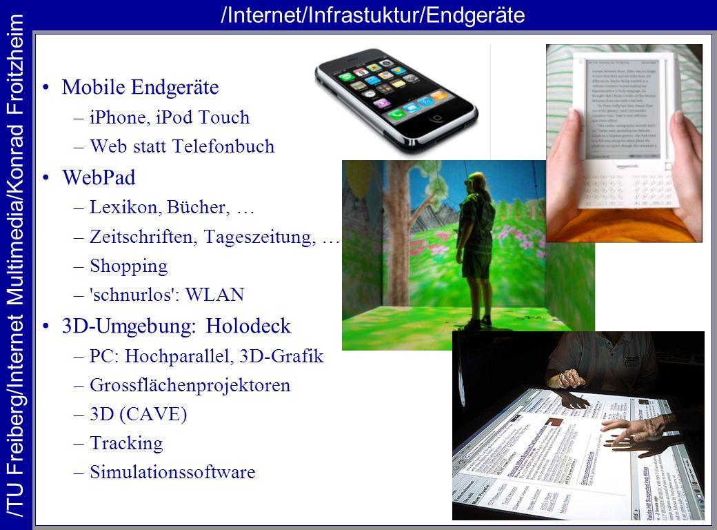 /Internet/Infrastuktur/Endgeräte