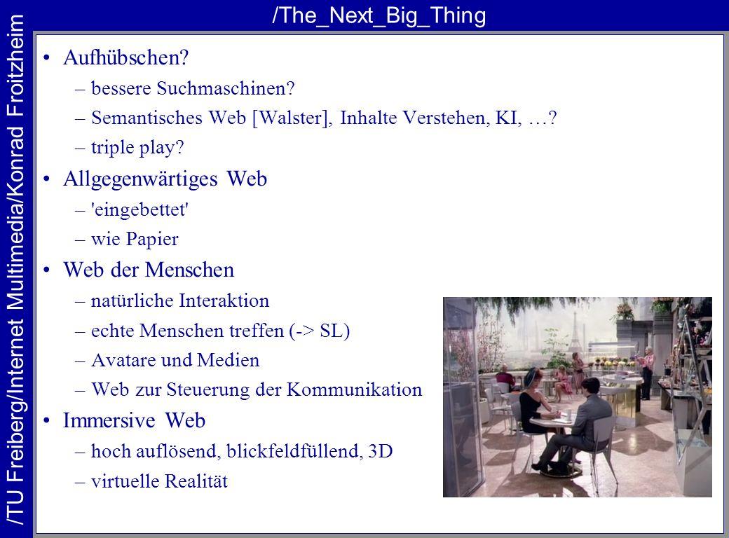 /The_Next_Big_Thing Aufhübschen Allgegenwärtiges Web Web der Menschen