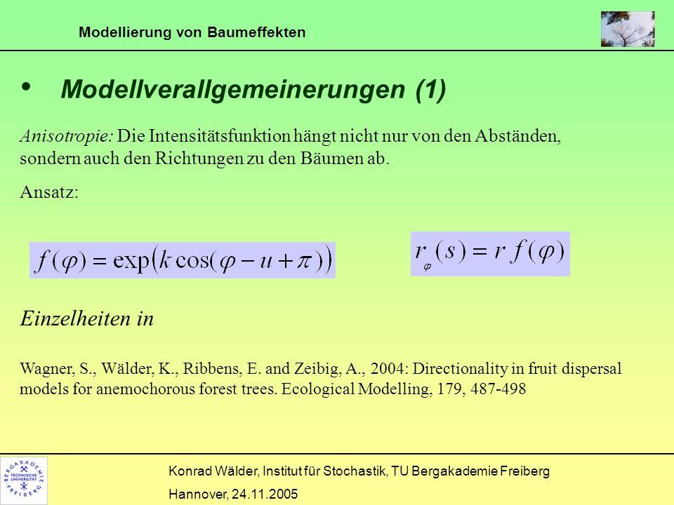 Modellverallgemeinerungen (1)