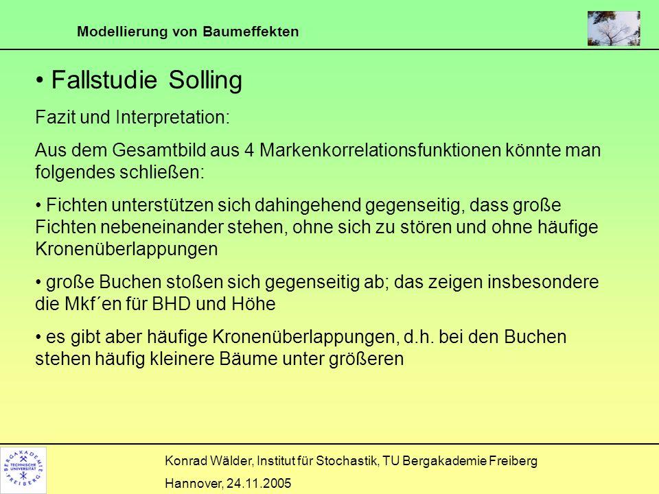 Fallstudie Solling Fazit und Interpretation: