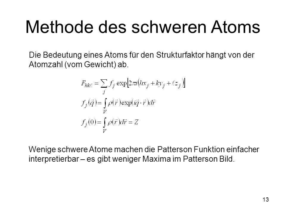 Methode des schweren Atoms