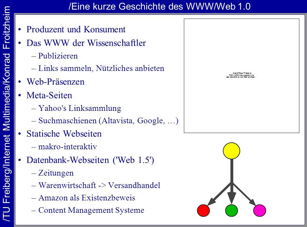 /Eine kurze Geschichte des WWW/Web 1.0