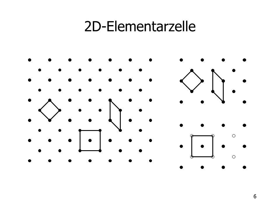 2D-Elementarzelle