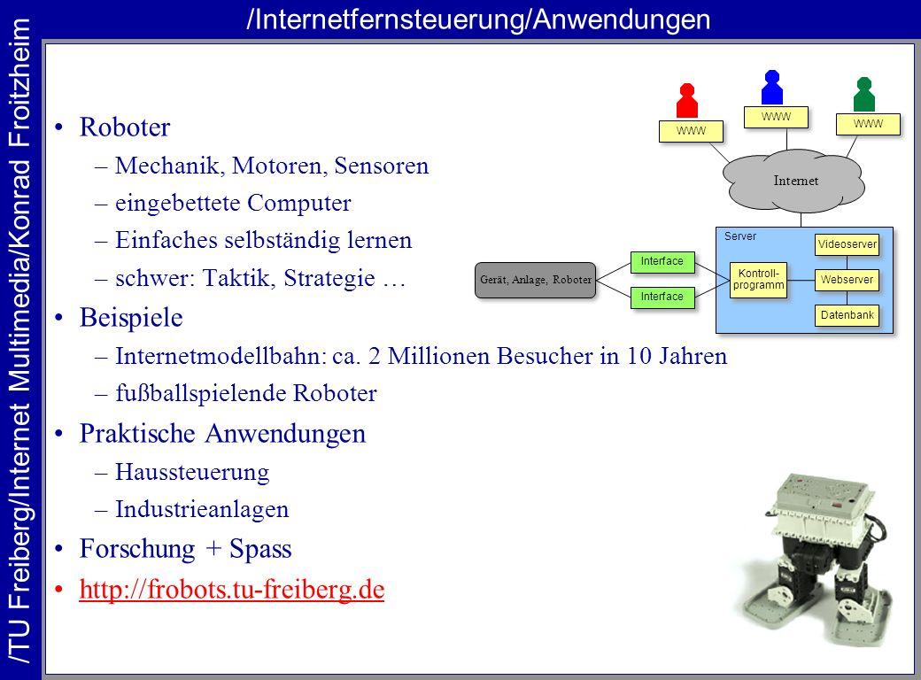 /Internetfernsteuerung/Anwendungen