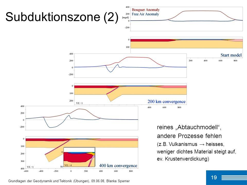 Subduktionszone (2)
