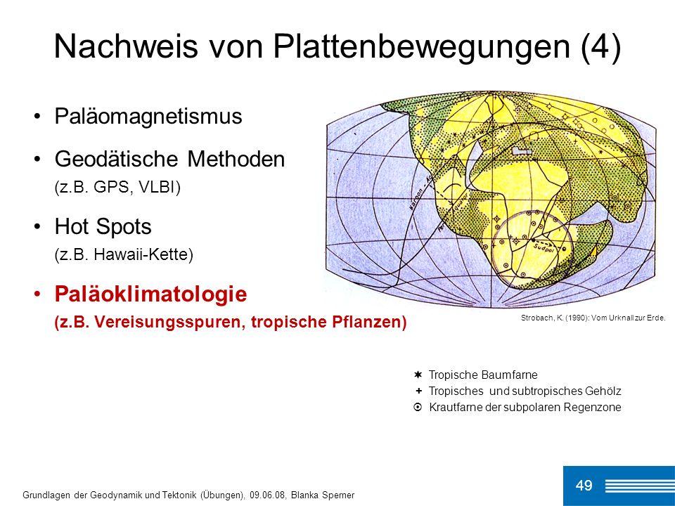 Nachweis von Plattenbewegungen (4)