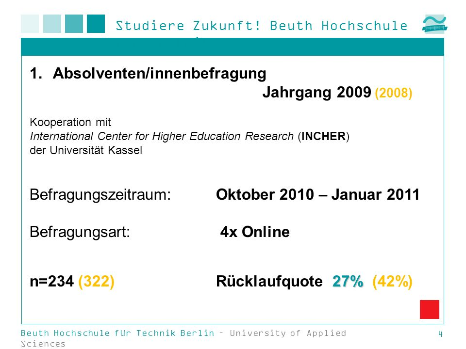Absolventen/innenbefragung Jahrgang 2009 (2008)