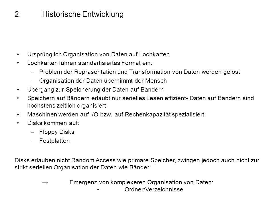 2. Historische Entwicklung
