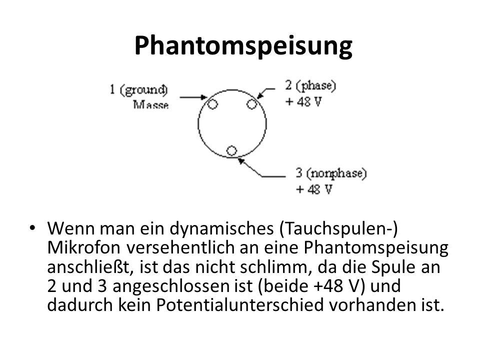 Phantomspeisung
