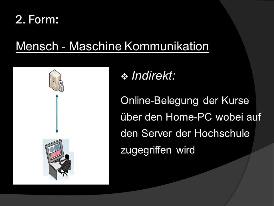 Mensch - Maschine Kommunikation