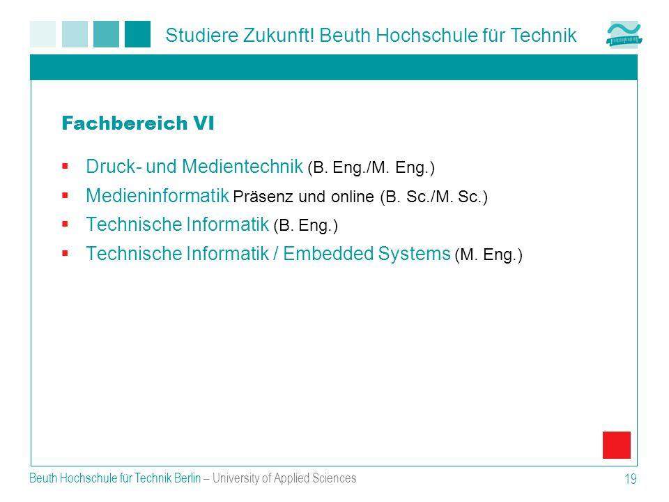 Druck- und Medientechnik (B. Eng./M. Eng.)