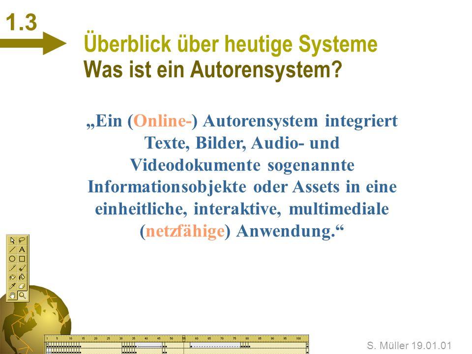 Überblick über heutige Systeme Was ist ein Autorensystem