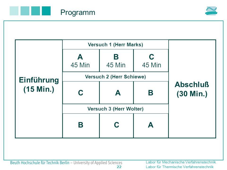 Versuch 2 (Herr Schiewe)
