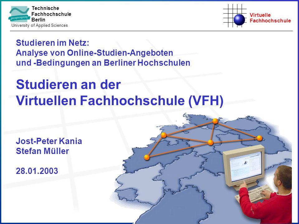 Studieren an der Virtuellen Fachhochschule (VFH)