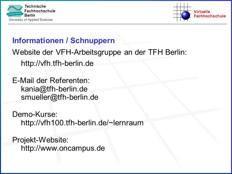 Informationen / Schnuppern