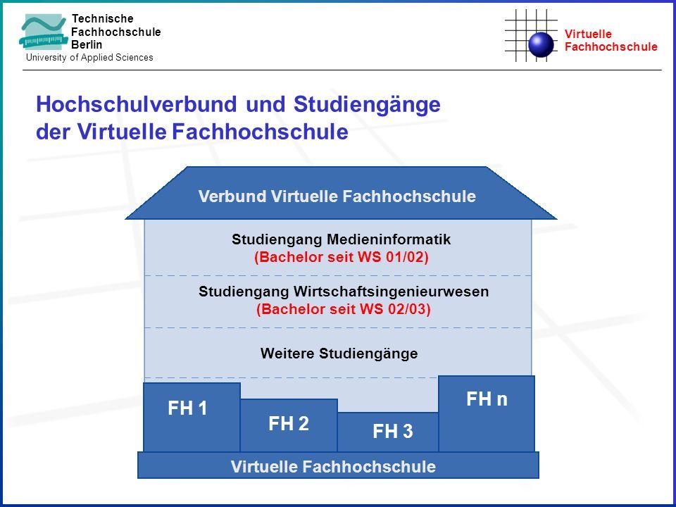 Hochschulverbund und Studiengänge der Virtuelle Fachhochschule