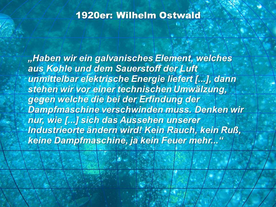 1920er: Wilhelm Ostwald