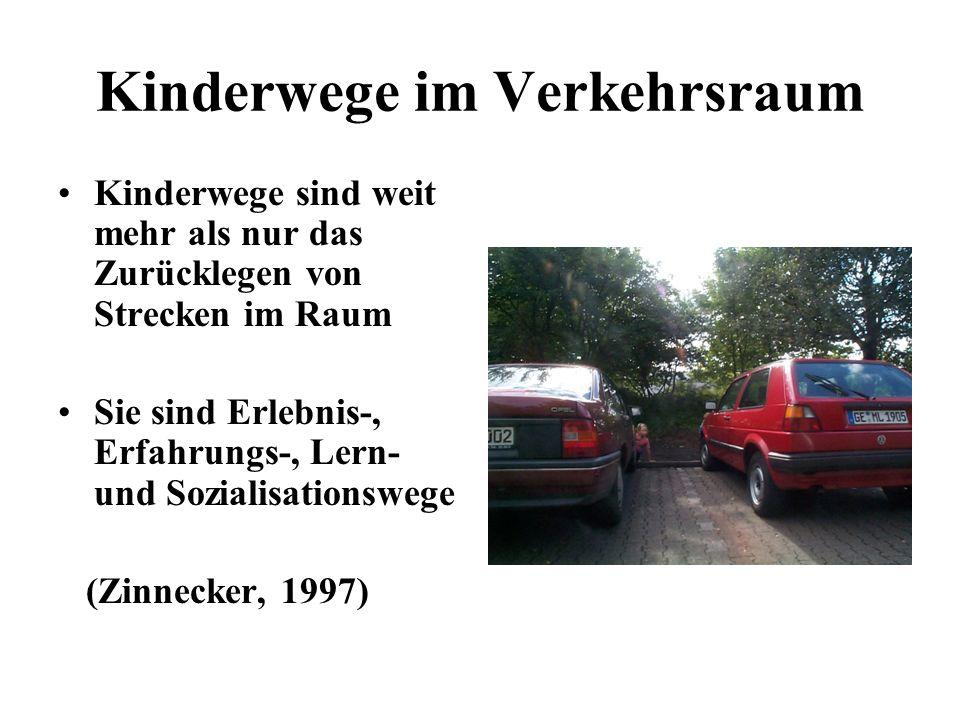 Kinderwege im Verkehrsraum