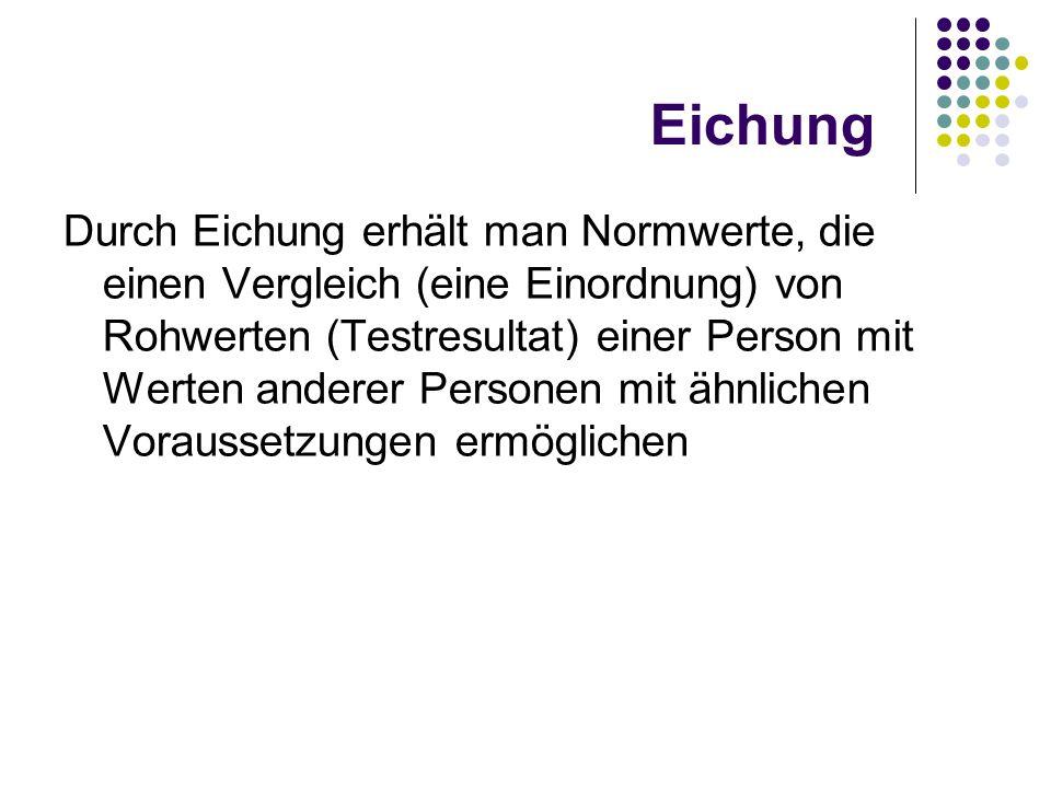Eichung