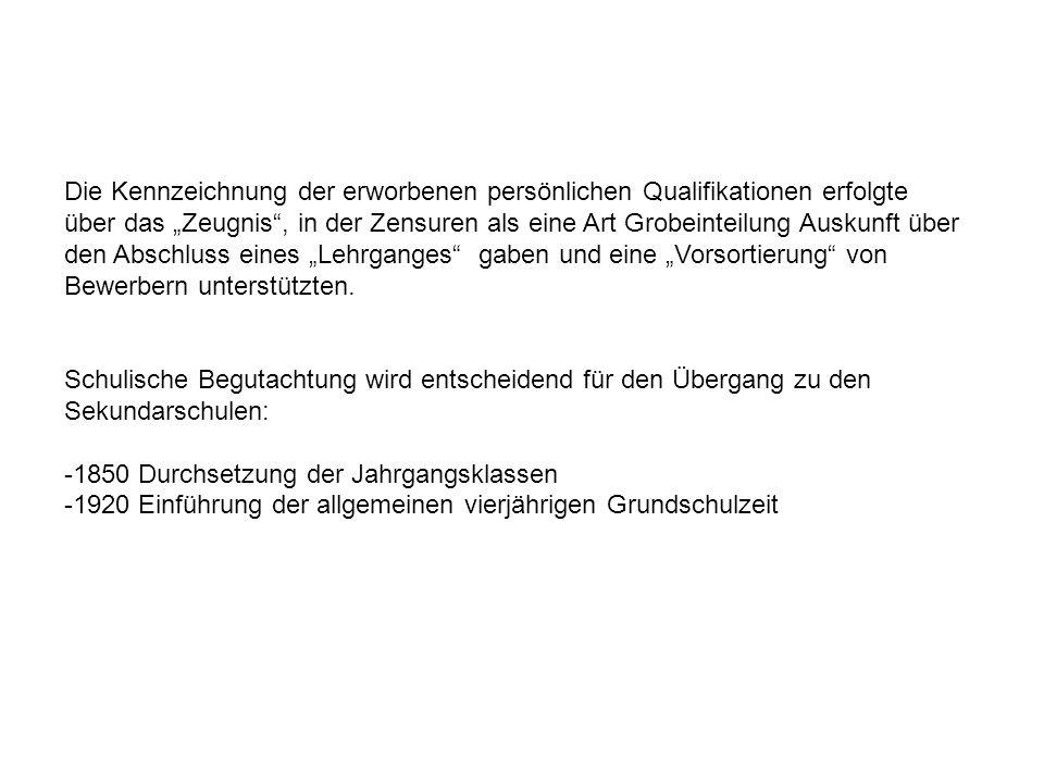 Die Kennzeichnung der erworbenen persönlichen Qualifikationen erfolgte