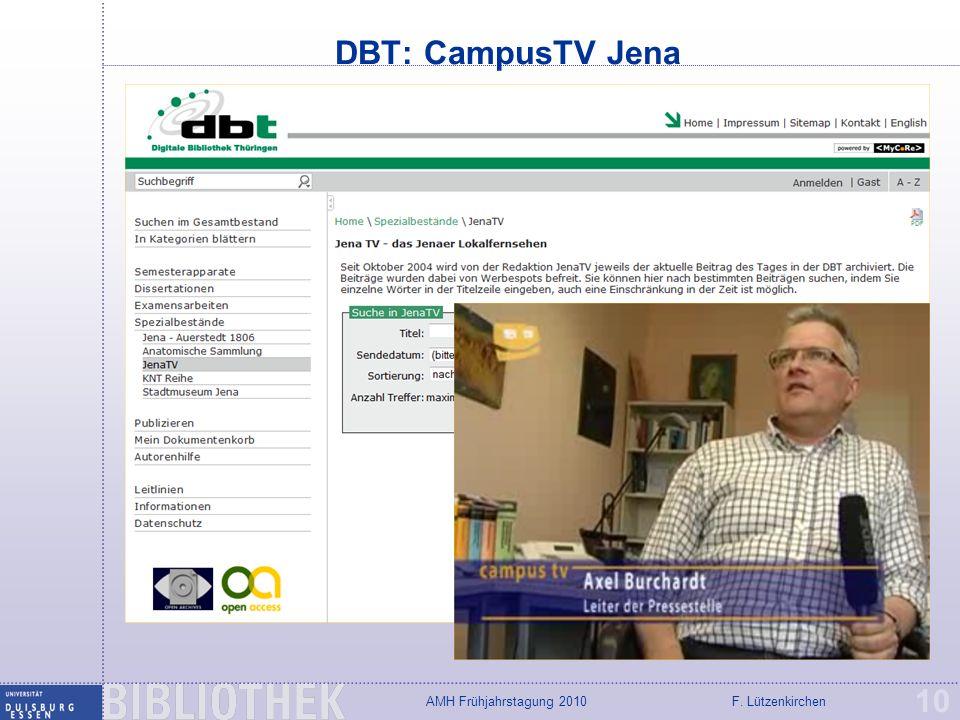 DBT: CampusTV Jena