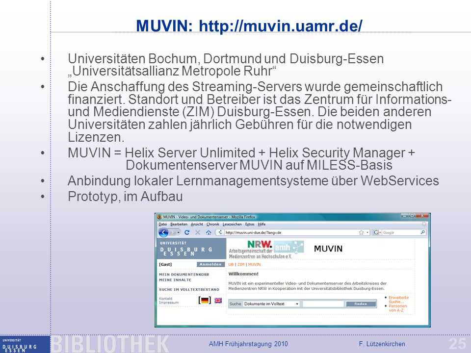 MUVIN: http://muvin.uamr.de/