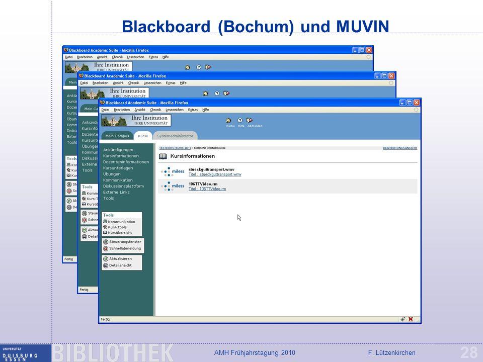 Blackboard (Bochum) und MUVIN