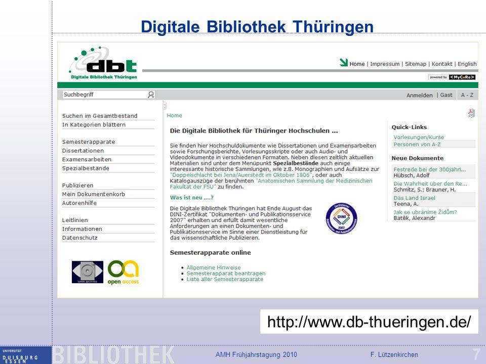 Digitale Bibliothek Thüringen