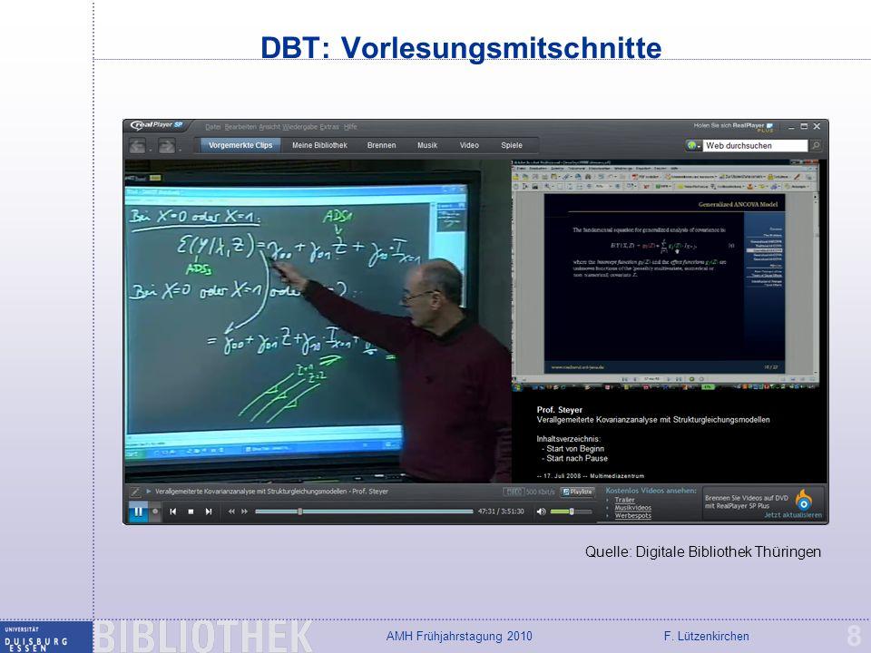 DBT: Vorlesungsmitschnitte