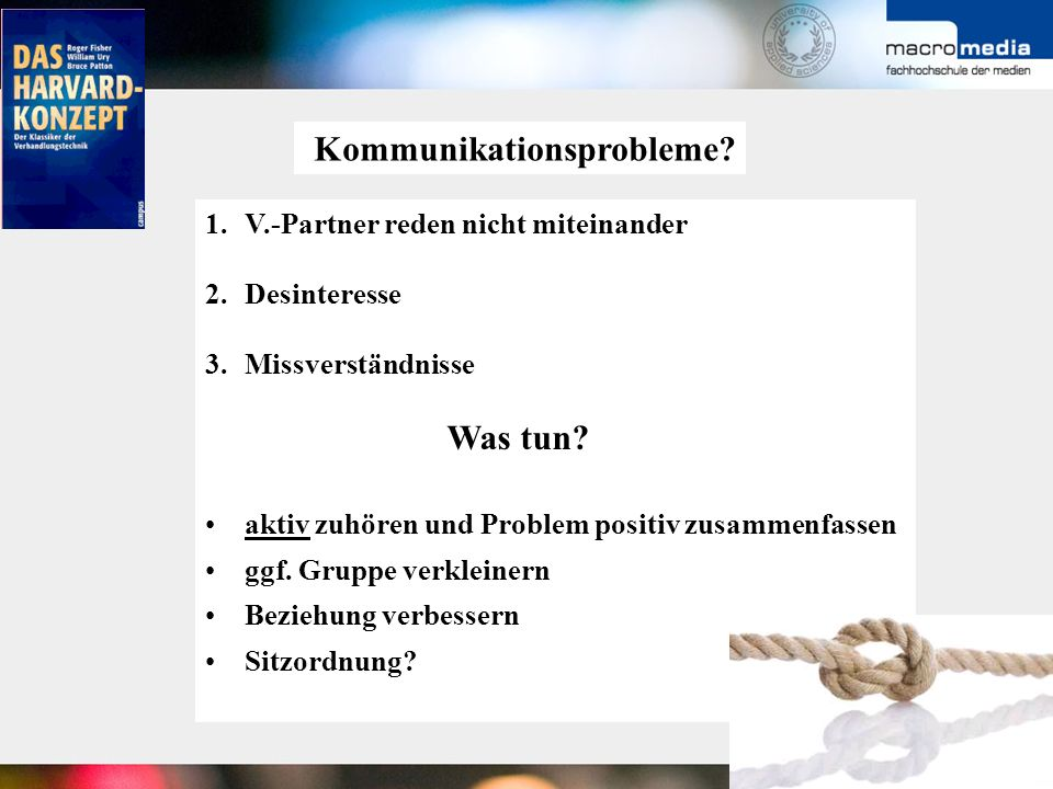 Kommunikationsprobleme