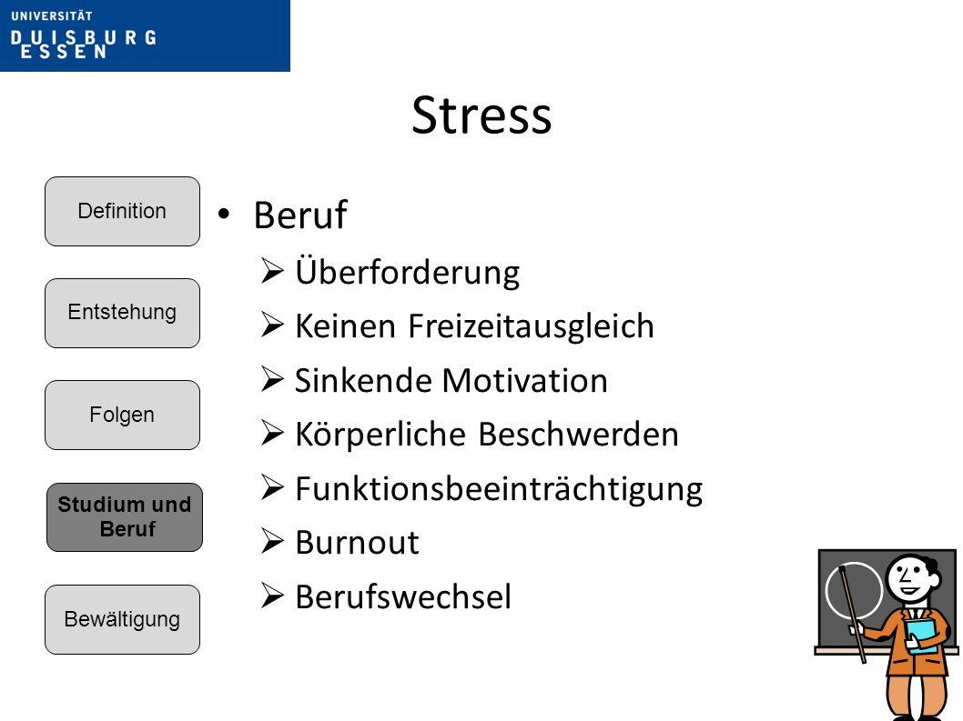 Stress Beruf Überforderung Keinen Freizeitausgleich