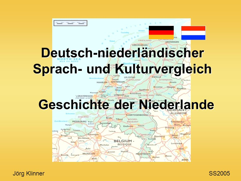 Deutsch-niederländischer Sprach- und Kulturvergleich