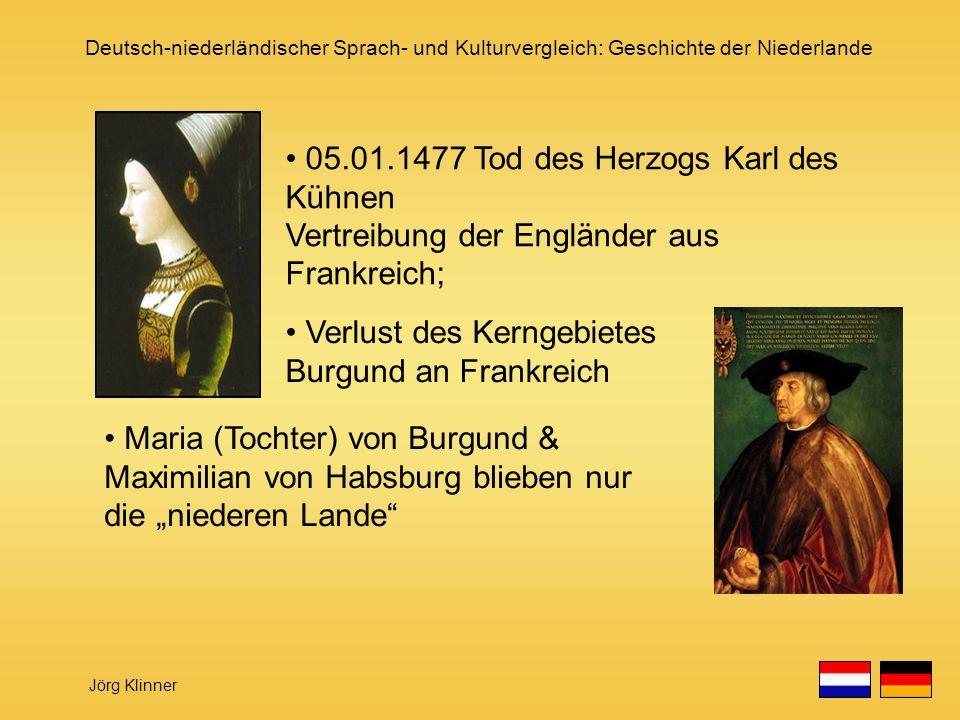 05.01.1477 Tod des Herzogs Karl des Kühnen