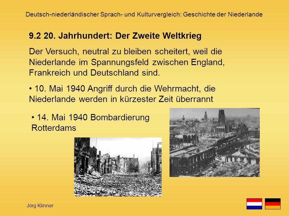 9.2 20. Jahrhundert: Der Zweite Weltkrieg
