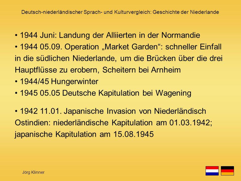1944 Juni: Landung der Alliierten in der Normandie