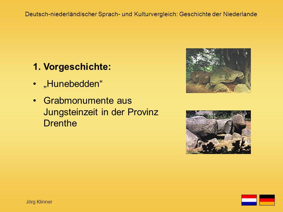"""Vorgeschichte: """"Hunebedden Grabmonumente aus Jungsteinzeit in der Provinz Drenthe"""